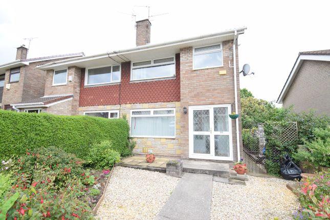 Thumbnail Semi-detached house for sale in Greenhill Road, Sebastopol, Pontypool