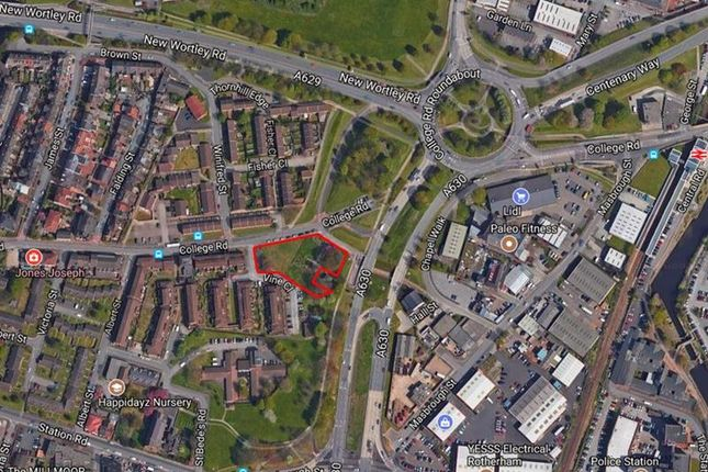 Thumbnail Land for sale in Former Masbrough Chapel Site College Road, Rotherham, South Yorkshire