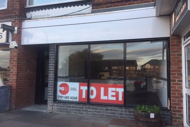 Thumbnail Retail premises to let in Claremont Crescent, Whitley Bay