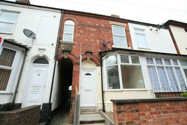 Thumbnail Terraced house to rent in Albert Street, Stapleford, Nottingham