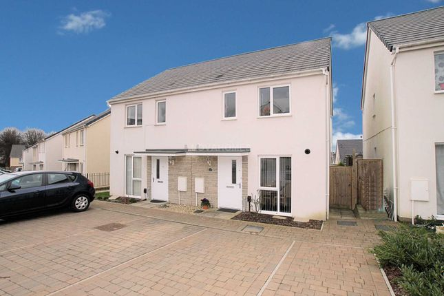 Thumbnail Semi-detached house for sale in Foliot Road, Plymouth