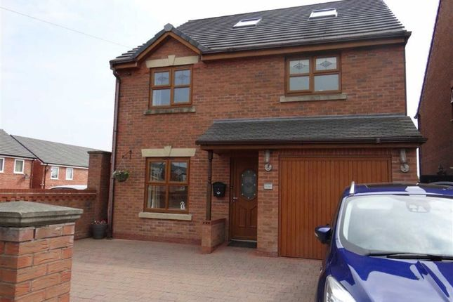 Thumbnail Detached house for sale in Westleigh Lane, Leigh, Lancashire