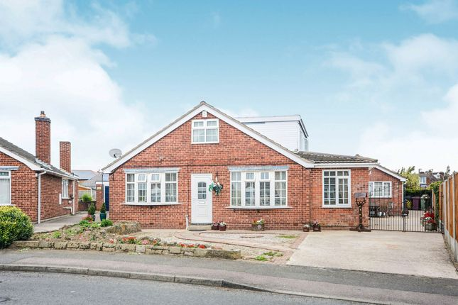 Thumbnail Detached bungalow for sale in Elvaston Road, North Wingfield, Chesterfield