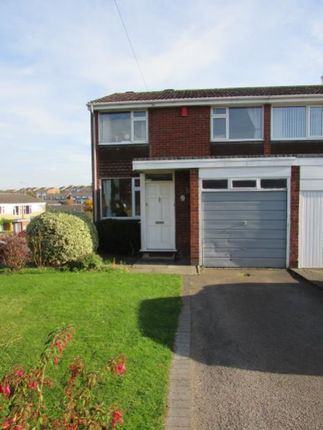 Thumbnail Semi-detached bungalow to rent in Cornwallis Road, Rugby