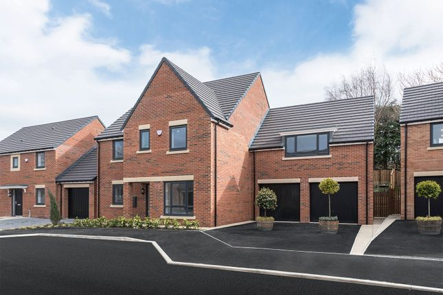 """Thumbnail Detached house for sale in """"The Hepscott"""" at Loansdean, Morpeth"""