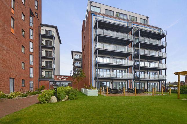 Thumbnail Flat for sale in Hamilton Gardens, Felixstowe