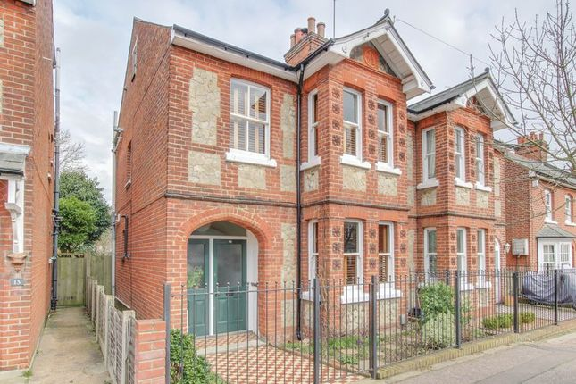 Thumbnail Semi-detached house for sale in Athelstan Road, Colchester