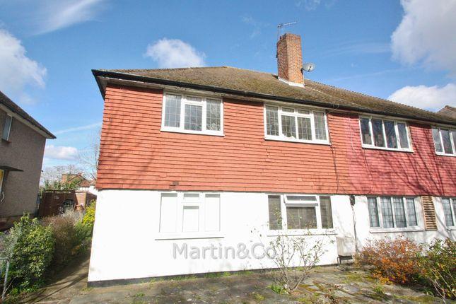 Thumbnail Maisonette to rent in Epsom Road, Sutton