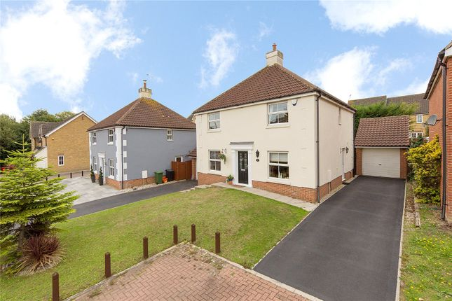 Thumbnail Detached house for sale in Royal Oak Chase, Laindon, Essex