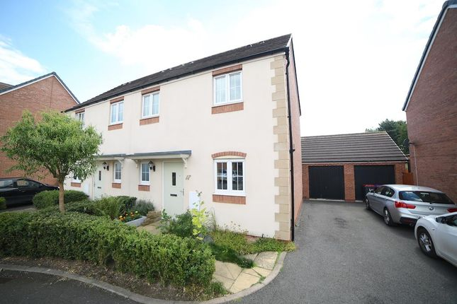 Thumbnail Semi-detached house for sale in Dukes View, Donnington, Telford