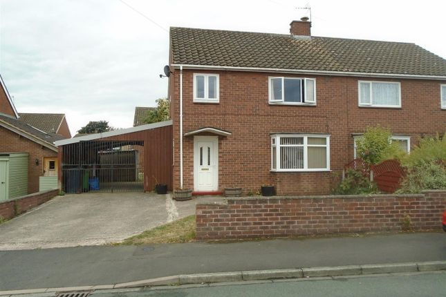 Thumbnail Semi-detached house for sale in Horksley, Shrewsbury