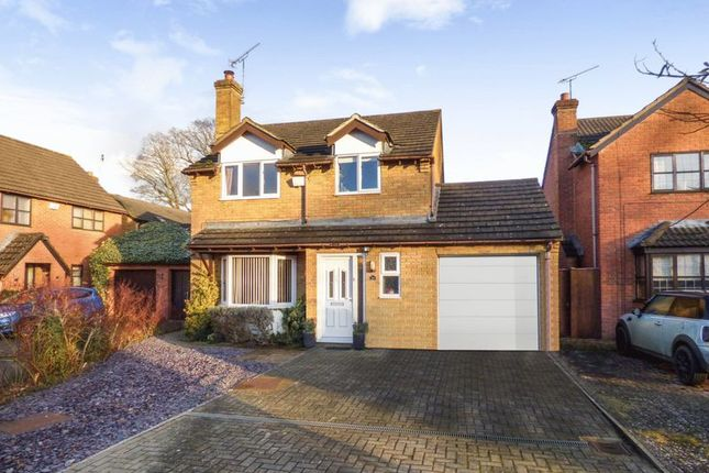 Thumbnail Detached house for sale in Sleaford Close, Grange Park, Swindon
