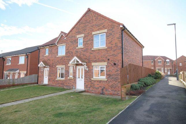 Thumbnail Semi-detached house to rent in Twizell Burn Walk, Pelton Fell, Chester Le Street
