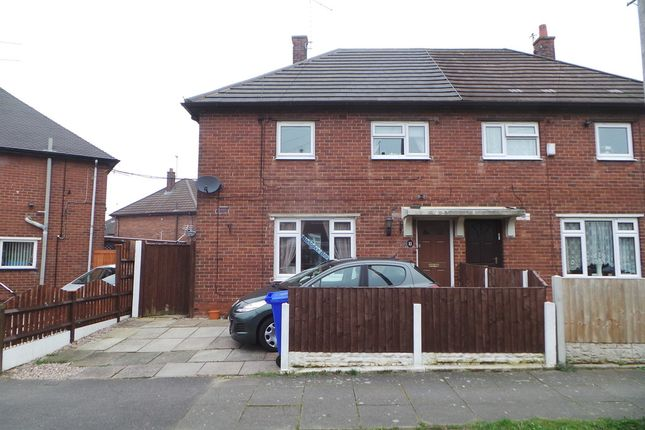 Thumbnail Semi-detached house for sale in Horsley Grove, Blurton, Stoke-On-Trent