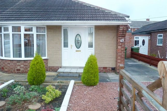 Thumbnail Semi-detached house for sale in Leander Avenue, Choppington, Northumberland