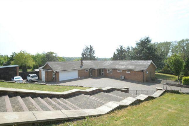 Thumbnail Detached bungalow for sale in Norwich Road, Caistor St Edmund, Norwich