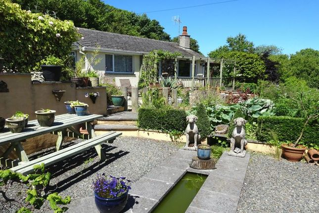Thumbnail Detached bungalow for sale in Gorran, St. Austell