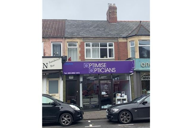 Thumbnail Commercial property for sale in 124, Whitchurch Road, Cardiff, Caerdydd, UK