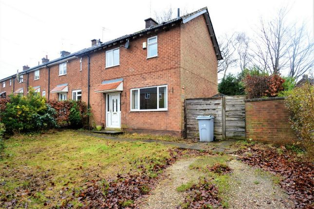 Thumbnail End terrace house for sale in Gilchrist Avenue, Macclesfield, Cheshire