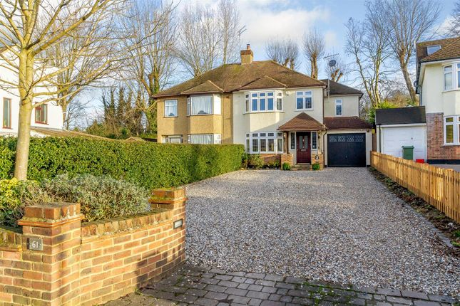Thumbnail Semi-detached house for sale in Friars Avenue, Shenfield, Brentwood