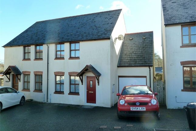 Thumbnail Semi-detached house for sale in Heol Ty Newydd, Cilgerran, Cardigan, Pembrokeshire