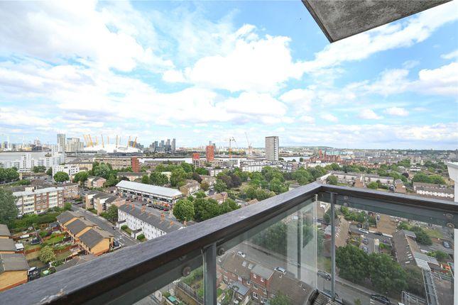 Balcony of City Tower, 3 Limeharbour, Canary Wharf, London E14