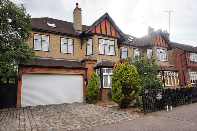 Thumbnail Semi-detached house for sale in The Drive, Loughton