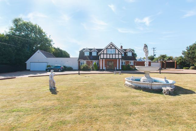 Thumbnail Detached house for sale in Claverhambury Farm, Claverhambury Road, Waltham Abbey, Essex