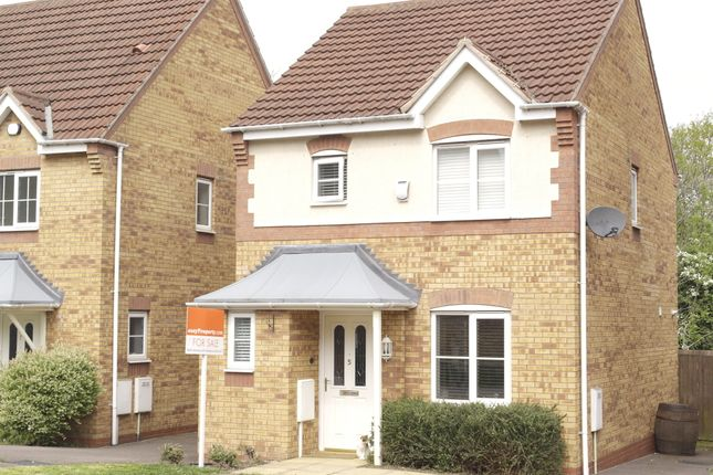 Thumbnail Detached house for sale in Wellingar Close, Thorpe Astley, Braunstone, Leicester