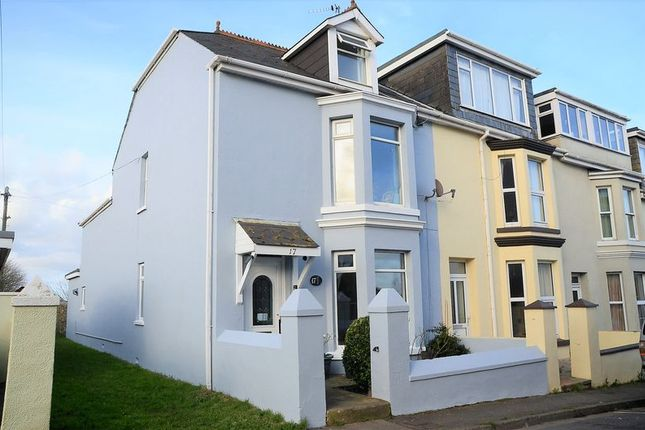 Thumbnail Terraced house for sale in Queens Road, Brixham