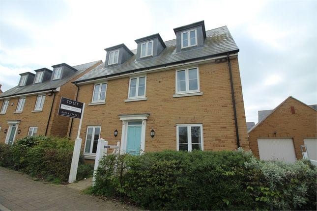 Thumbnail Detached house to rent in Trafalgar Drive, Brooklands, Milton Keynes, Buckinghamshire