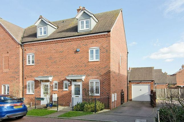 Thumbnail Semi-detached house to rent in Broadbent Close, Lichfield