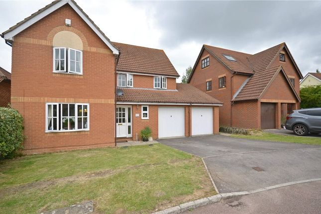 Thumbnail Detached house for sale in Norfolk Chase, Warfield, Bracknell