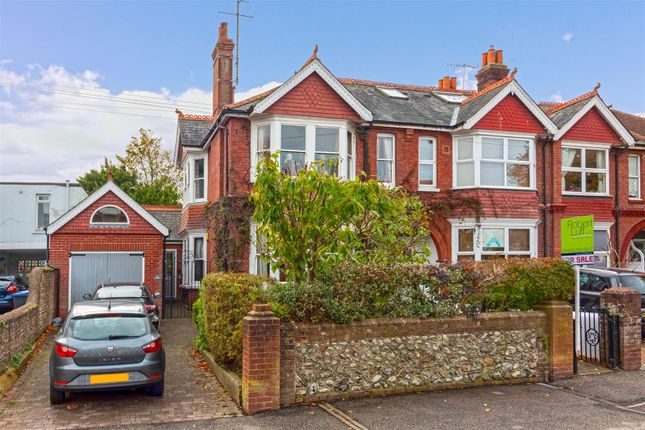 Thumbnail End terrace house for sale in Tower Road, Broadwater, Worthing