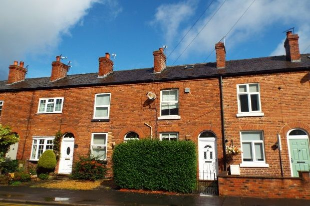 Thumbnail Cottage to rent in Greenwood Terrace, Town Lane, Mobberley