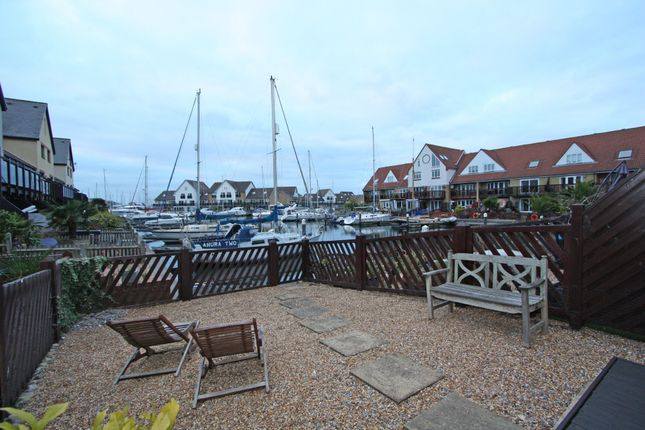 Thumbnail Terraced house to rent in Mullion Close, Port Solent, Portsmouth