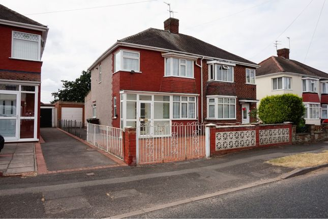 Thumbnail Semi-detached house for sale in Harrowby Road, Wolverhampton