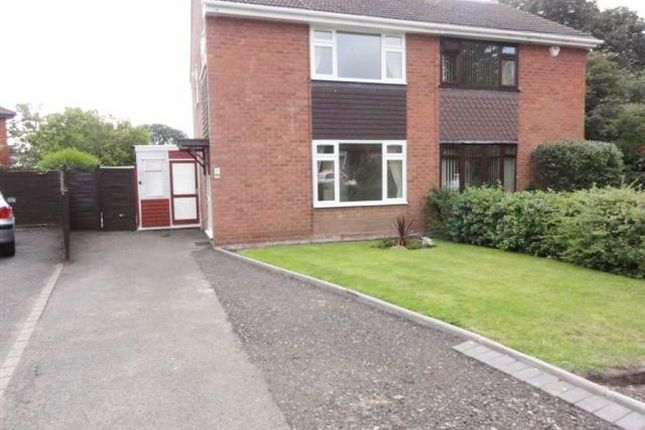 Thumbnail Semi-detached house to rent in Cherry Tree Gardens, Codsall, Wolverhampton