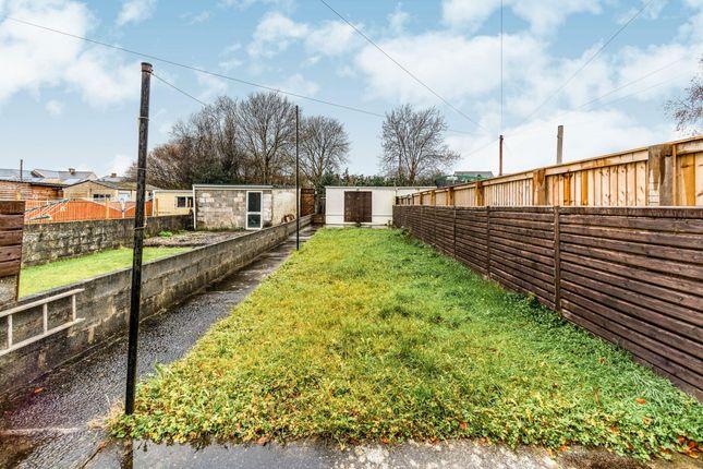 Garden of Brighton Road, Gorseinon, Swansea SA4