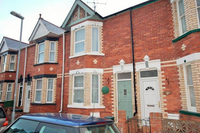 2 bed terraced house to rent in Powderham Road, St Thomas, Exeter EX2