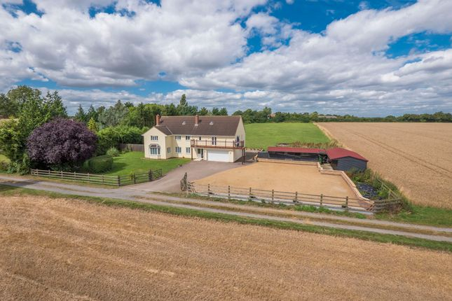 Thumbnail Detached house for sale in Buxhall, Stowmarket, Suffolk