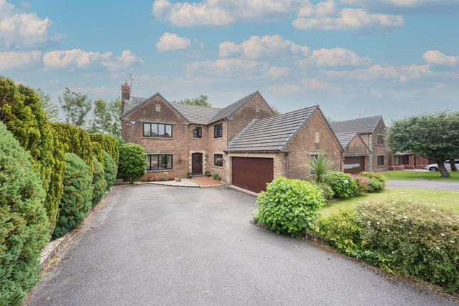 Thumbnail Detached house for sale in Llangorse Drive, Rogerstone