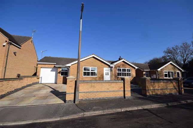 Thumbnail Detached bungalow for sale in Morley Close, Belper