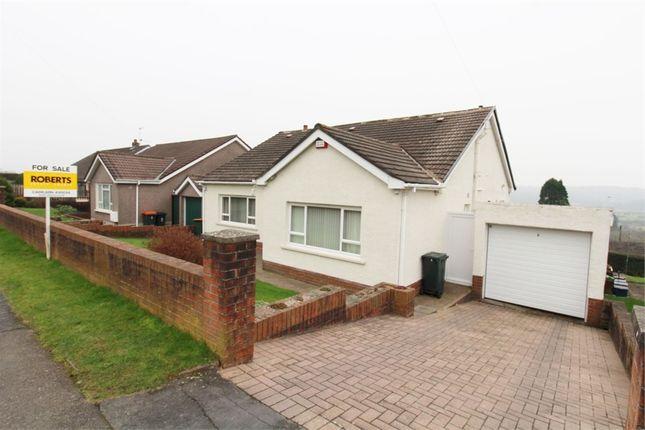 Thumbnail Detached bungalow for sale in Augustan Close, Caerleon, Newport