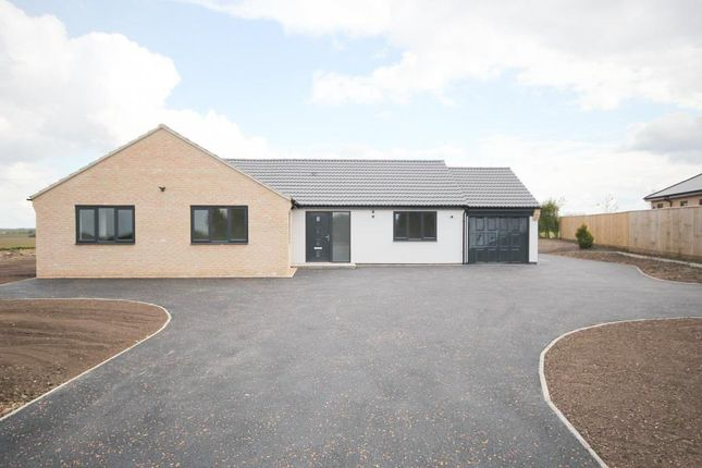 Thumbnail Detached bungalow for sale in Mill Hill, Little Downham, Ely