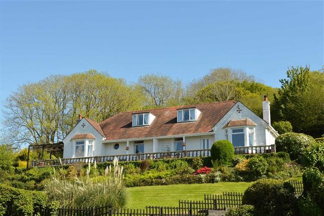 Thumbnail Detached house for sale in Hillcrest, The Common, Swansea