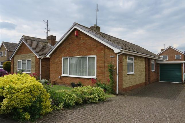 Thumbnail Detached bungalow for sale in Antona Gardens, Raunds, Wellingborough
