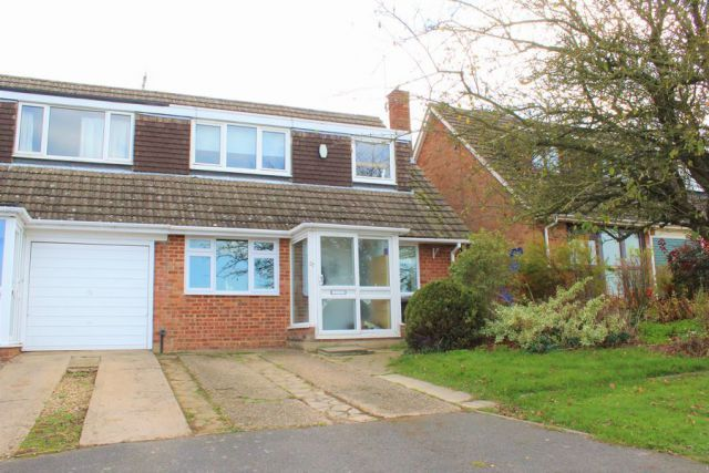 Thumbnail Semi-detached house for sale in Rolfe Crescent, Nether Heyford, Northampton