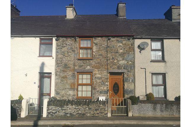 Thumbnail Terraced house for sale in Maenafon, Llanfairpwllgwyngyll