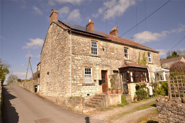 Thumbnail End terrace house for sale in New Buildings, Peasedown St. John, Bath, Somerset